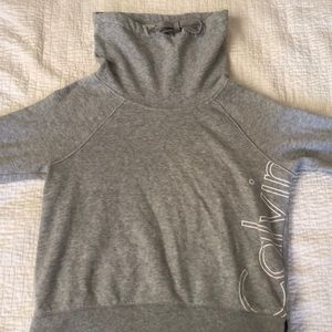 calvin klein gray sweatshirt